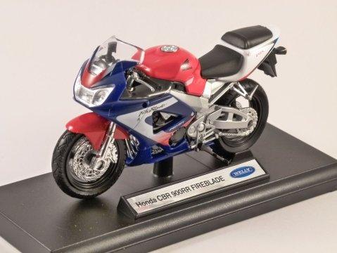 HONDA CBR 900RR FIREBLADE 1/18 scale model by WELLY