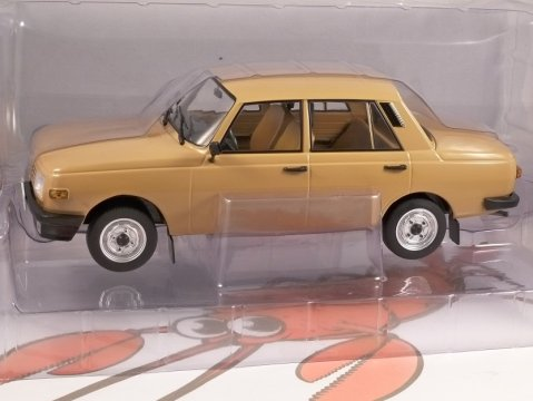 1985 WARTBURG 353 in Light Brown 1/18 scale model by MCG