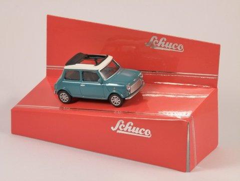 Schuco MINI COOPER in Turquoise - 1/64 scale model