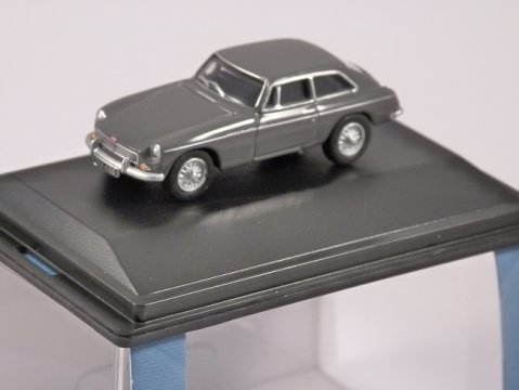MGBGT in Grampian Grey - 1/76 scale model OXFORD DIECAST