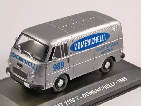 1965 FIAT 1100 T - Domenichelli - 1/43 scale model by Altaya
