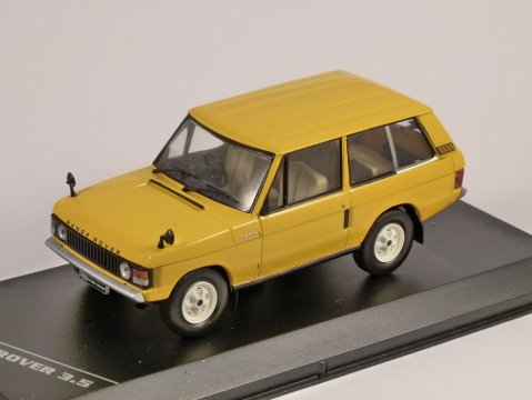 1970 RANGE ROVER 3.5 in Yellow 1/43 scale model by Whitebox