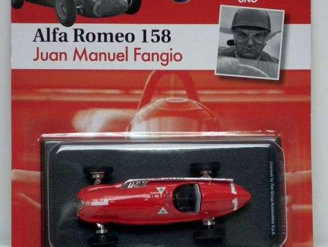 1950 ALFA ROMEO 158 Fangio - Formula 1 - 1/43 scale partwork model