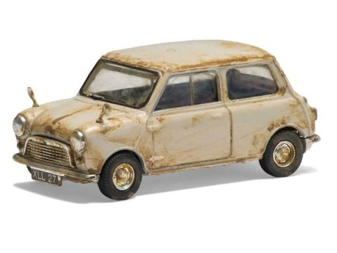 AUSTIN MINI SE7EN in Grey- 4th Oldest Mini 1/43 scale model CORGI Vanguards