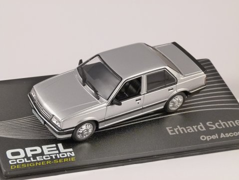 OPEL ASCONA C in Silver 1/43 scale model ALTAYA
