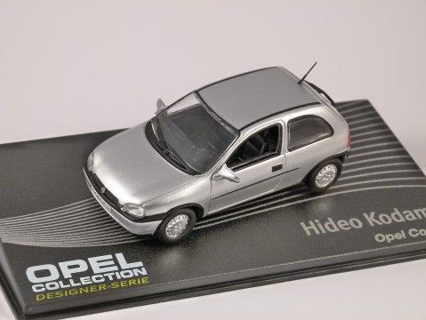OPEL CORSA B in Silver 1/43 scale model ALTAYA