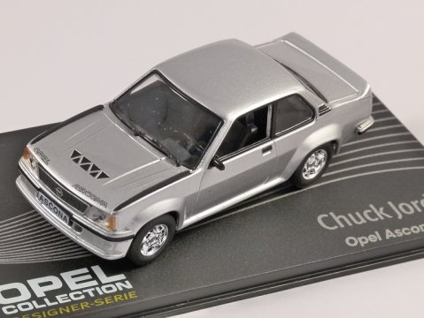 OPEL ASCONA B400 in Silver 1/43 scale model ALTAYA