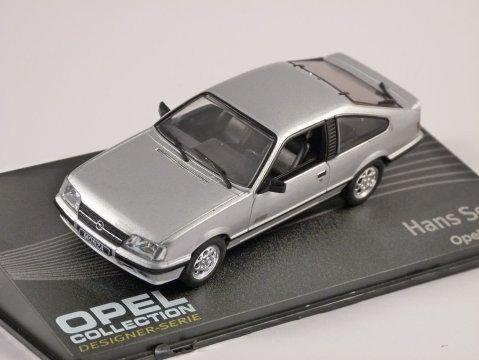 OPEL MONZA in Silver 1/43 scale model ALTAYA