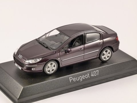 2006 PEUGEOT 407 Saloon 1/43 scale model by Norev
