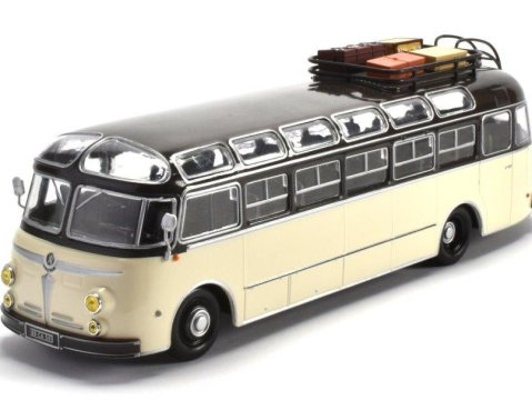 1955 ISOBLOC 648DP France 1/43 scale bus model