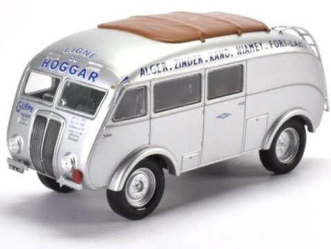 1938 RENAULT AGP85 Sohorten, France 1/43 scale bus model