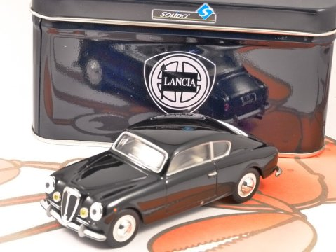 1951 LANCIA AURELIA B20 GT in Black 1/43 scale model by SOLIDO