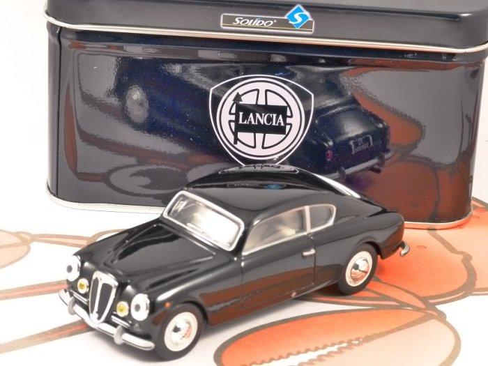 1951 LANCIA AURELIA B20 GT in Black 1/43 scale model by SOLIDO
