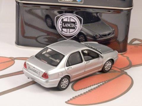 1999 LANCIA LYBRA in Silver 1/43 scale model by SOLIDO
