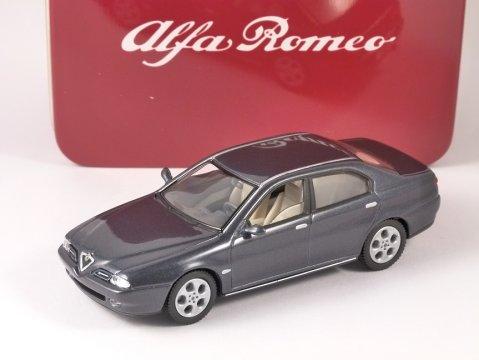 ALFA ROMEO 166 in Grey Metallic 1/43 scale model by SOLIDO