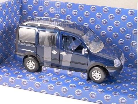 FIAT DOBLO MALIBU in Blue 1/24 scale model by NOREV