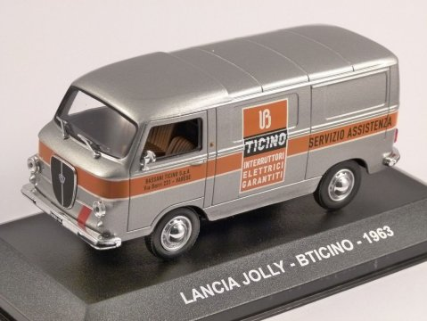 1963 LANCIA JOLLY - BTICINO - 1/43 scale model by Altaya