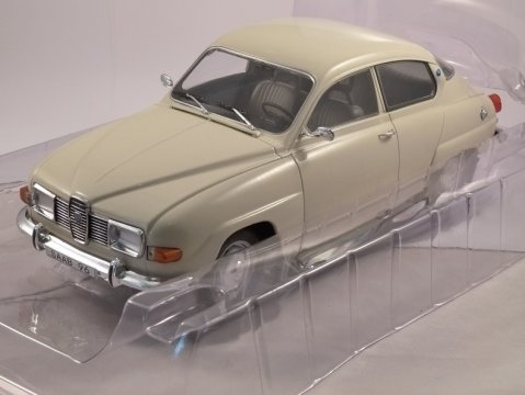 1976 SAAB 96 V4 in Beige 1/18 scale model by MCG