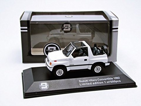 1992 SUZUKI VITARA CONVERTIBLE in White 1/43 scale model by Triple 9 Collection