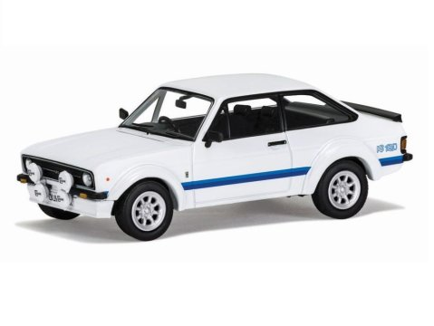 FORD ESCORT Mk2 RS1800 Forest Arches in White 1/43 scale model CORGI Vanguards