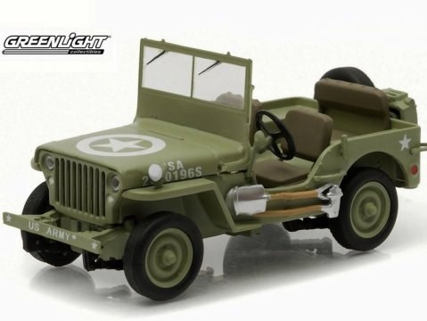 1944 JEEP C7 US Army 1/43 scale diecast model by Greenlight