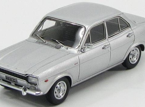 1973 FORD ESCORT Mk1 4dr 1100XL in Silver 1/43 scale model KESS