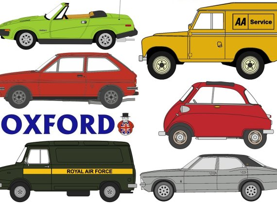 Oxford Diecast 2018 new releases