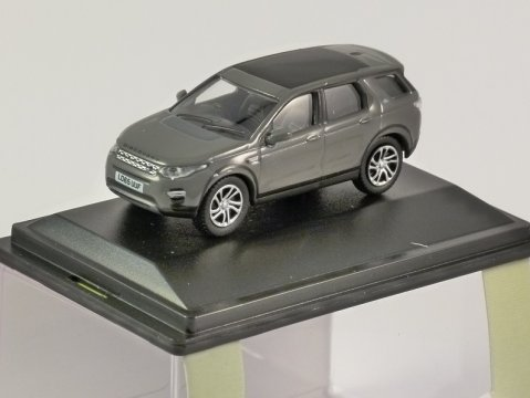 LAND ROVER DISCOVERY SPORT in Grey 1/76 scale model OXFORD DIECAST