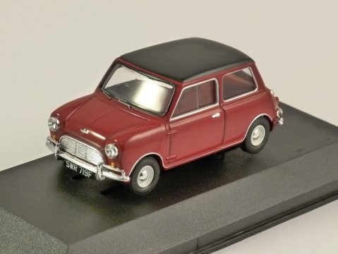 MINI COOPER S Mk1 in Red & Black 1/43 scale model by Corgi Vanguards