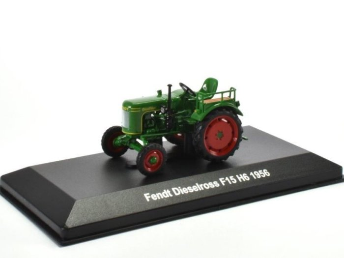 1956 fendt dieselross f15 h6 tractor 1 43 scale model by. Black Bedroom Furniture Sets. Home Design Ideas