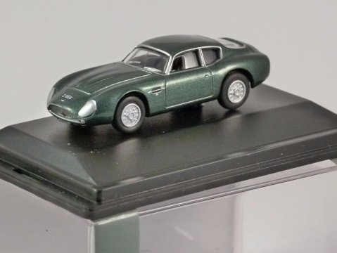 ASTON MARTIN DB4GT Zagato Jim Clark 1/76 scale model OXFORD DIECAST