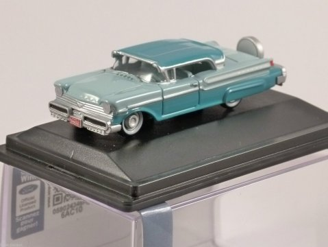 1957 MERCURY TURNPIKE in Tahitian Green 1/87 scale model OXFORD DIECAST