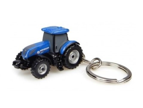 NEW HOLLAND T7.225 Tractor keyring by Universal Hobbies