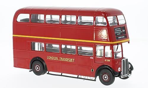 AEC Regent III RT, red, 1939