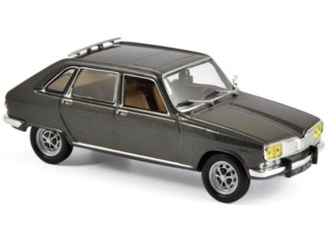 1976 RENAULT 16 TX in Grey Metallic 1/43 scale model by Norev