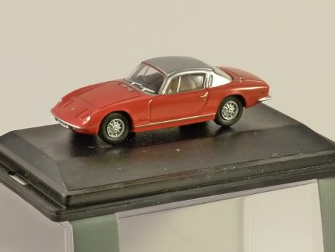 LOTUS ELAN in Red / Silver 1/76 scale model OXFORD DIECAST