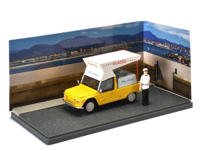 CITROEN MEHARI Ice Cream - Marchand de Glaces - 1/43 scale model Atlas Editions