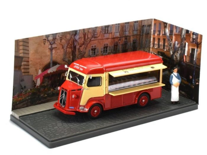 CITROEN TYPE H Butcher / Boucherie Charcuterie - 1/43 scale model Atlas Editions
