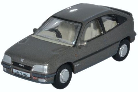 VAUXHALL ASTRA Mk2 GTE in Steel Grey 1/76 scale model OXFORD DIECAST