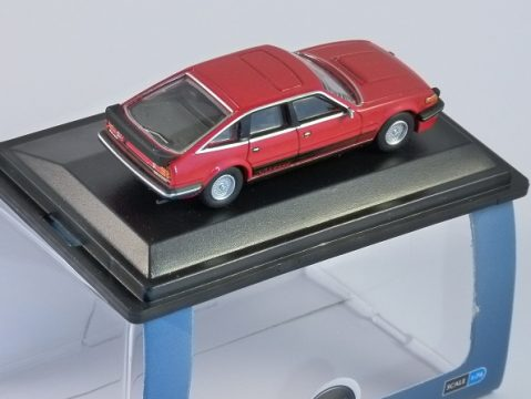ROVER SD1 3500 VITESSE in Targa Red 1/76 scale model OXFORD DIECAST