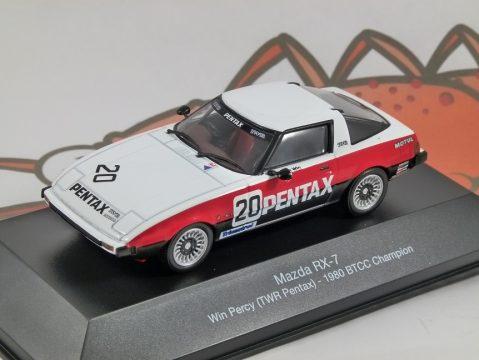 MAZDA RX-7 Win Percy 1980 BTCC - 1/43 scale partwork model - Atlas Editions