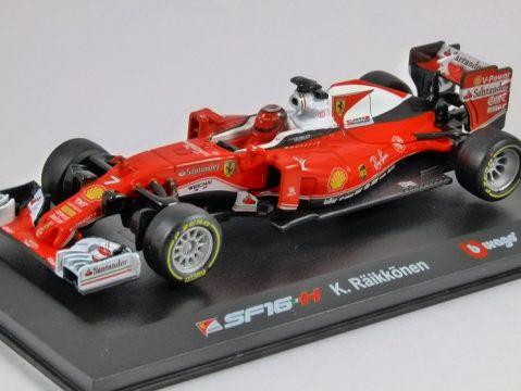 FERRARI SF16-H F1 Sebastian Vettel 1/32 scale model by Burago