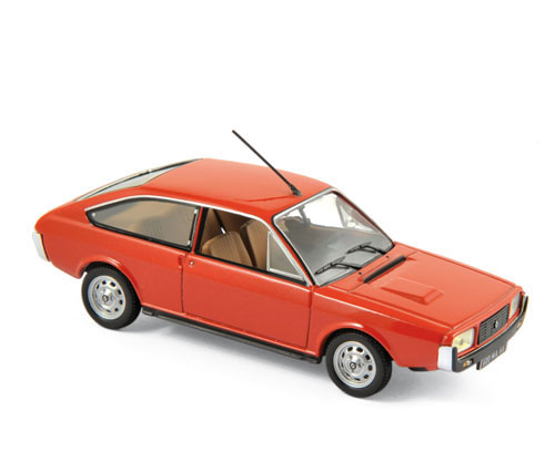 1976 RENAULT 15 TL in Red 1/43 scale model by Norev