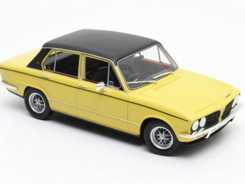TRIUMPH DOLOMITE SPRINT in Yellow 1/18 scale model Cult Scale Models