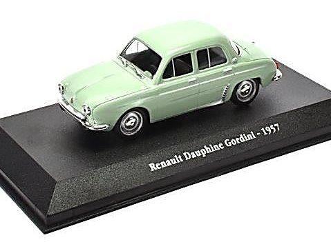 1957 RENAULT DAUPHINE GORDINI 1/43 scale model - Atlas Editions