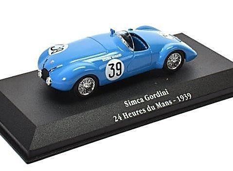 SIMCA GORDINI - Le Mans 24 Heures 1939 - 1/43 scale model Atlas Editions
