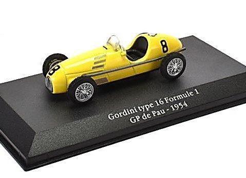 GORDINI Type 16 1954 Formula 1 - 1/43 scale model Atlas Editions