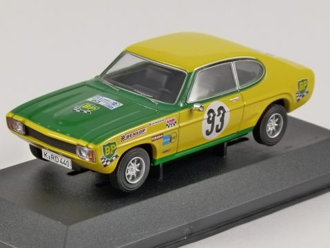 FORD CAPRI Mk1 2300GT Tour De France Automobile 1/43 scale model CORGI Vanguards