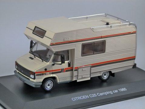 1985 CITROEN C35 CAMPING CAR 1/43 scale model by IXO