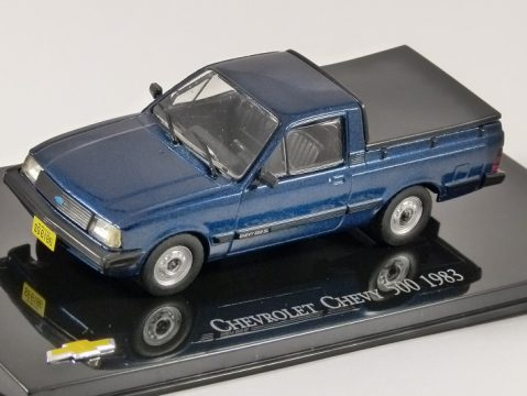 1983 CHEVROLET CHEVY 500 Pickup in Blue 1/43 scale partwork model